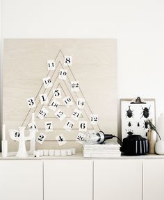 DIY Modern Advent Calendar