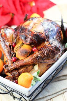 Malt-Beer-Brined Turkey With Malt Glaze Recipes — Dishmaps