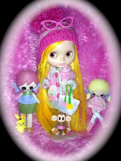 """This is 'Alice""""  and Pose dolls"""
