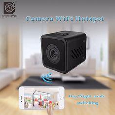 HD malá mini kamera bezdrôtová WIFI IP kamera IR nočná vízia Wifi bezpečnostná kamera S video monitor a baby monitor vonkajšia mikro kamkordér