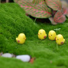 5 unids/lote miniatura de hadas Figurines lindo Mini pollo jardín tauromaquia y fotografía Artificial Micro paisaje Resinas Manualidades(China (Mainland))