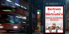 This advert was posted just around the corner from my London Office.  It was a bit embarrassing for a Secret Agent!