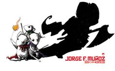 Mouse Guard fanart by Jorge F. Muńoz.
