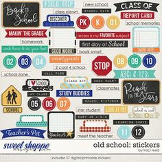 Old School: Stickers