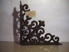 Equerre de style ancien en fer forg porche pinterest - Equerre fer forge ...