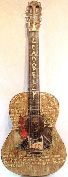 Jaksin Valiente; Lead Belly Guitar