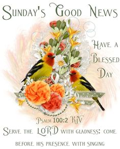 Psalm 100, Psalms, Sunday Love, Serve The Lord, Have A Blessed Day, Good News, Blessings, Christian, Heart