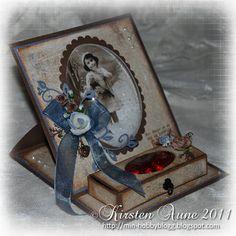 gorgeous easel card/chocolate box