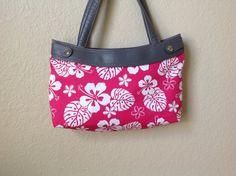 Handmade Thirty One Purse hot pink Hawaiian by ShellyJayneCovers, $10.00