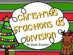 Fractions as Division