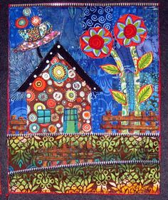 Twisted Sister: Workshops, Jamie Fingal. I just love her funky colorful quilts
