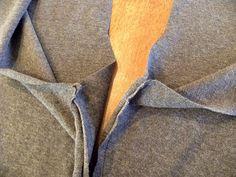 Andrea's Garden: T-shirt turned leggings Tutorial