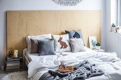 pomysł na urządzenie sypialni bez robienia remontu