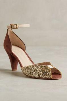Emma Go Joline Glitter Heels Rose Heels
