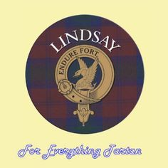 For Everything Genealogy - Clan Lindsay Clan Crest Tartan Cork Round Coasters Set of 2, $12.00 (http://foreverythinggenealogy.mybigcommerce.com/clan-lindsay-clan-crest-tartan-cork-round-coasters-set-of-2/)