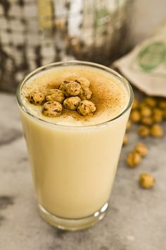 Boza: Cinnamon is a must, roasted chickpea is optional! Although considered as a winter beverage and served more during cold days, you can drink it whenever you like. Picture taken at Vefa Bozacisi, the oldest and best Boza house in Turkey.