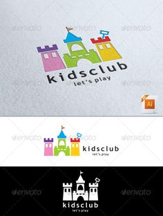Kids Club Logo - Symbols Logo Templates