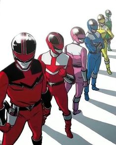 Power Rangers Time Force Shattered Grid