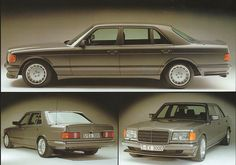 Mercedes (W126) SEL Lorinser. I wish mine looked like this.