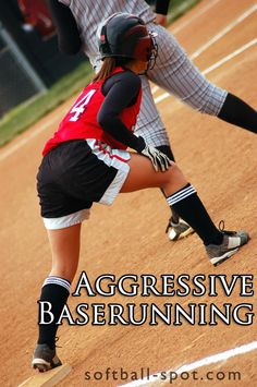 We are talking about aggressive softball baserunning, & the importance of always keeping your eye on the ball, taking you to the next level as a baserunner. Softball Workouts, Softball Drills, Softball Coach, Softball Players, Girls Softball, Softball Bats, Fastpitch Softball, Softball Stuff, Volleyball Gifts