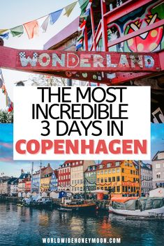 This is the ultimate 3 days in Copenhagen itinerary you'll want to copy | Copenhagen Denmark 3 Days | Copenhagen 3 Days | Copenhagen Travel Guide | Copenhagen Travel Pictures | Copenhagen Photography | Copenhagen Packing List | Copenhagen Packing List Winter | Copenhagen Packing List Summer | Things to do in Copenhagen Guide | Guide to Copenhagen | Things to do in Copenhagen Denmark | Europe Travel | Europe Destinations | Couples Travel European Travel Tips, European Vacation, Europe Travel Guide, European Destination, Travel Guides, Travel Destinations, Visit Denmark, Denmark Travel, Denmark Europe