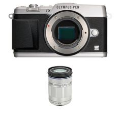 Olympus E-P5   40-150mm F4.0-5.6 R Zoom Lens (Silver) -- Check this awesome product by going to the link at the image.