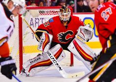 Flames' Chad Johnson is all about winning the mental game = DALLAS — Chad Johnson may be the most mentally stable goalie in the NHL. Playing a position that attracts the weirdos and eccentrics of the sport, the Calgary Flames goalie has found a calming center in the crease. He.....