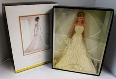 Carolina Herrera Bride Barbie Doll (Gold Label) (NEW) | Dolls & Bears, Dolls, Barbie Contemporary (1973-Now) | eBay; I want this barbie so bad!!