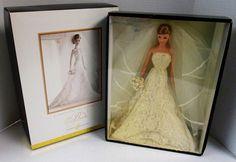Carolina Herrera Bride Barbie Doll (Gold Label) (NEW) | Dolls & Bears, Dolls, Barbie Contemporary (1973-Now) | eBay; I want this barbie so bad!!
