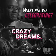 """S1 Ep2 """"O Hell No"""" - We'll cheers to that. #TheBoldType"""