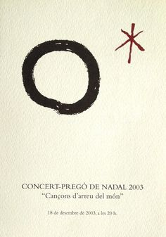 Programa concert Nadal, Fundació Blanquerna, 2003. #design #university #Blanquerna