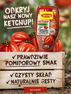 Nowe ketchupy w butelkach