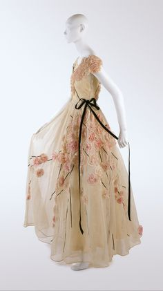 Dress, Jeanne Lanvin (French) for the House of Lanvin 1937