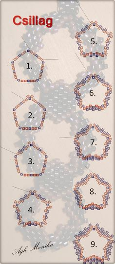 """Csillagminta"" = ""Star Pattern"" by Agh Monika (Hungarian) [Link Not Working]"