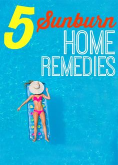 Get a little too much fun in the sun over the weekend? These five summer sunburned skin solutions will soothe you for sure.