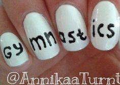 Gymnastics nails