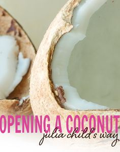 How to [safely] Open a Coconut - @Lexie's Kitchen { gluten free • dairy free }