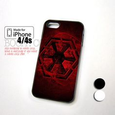 Star Wars The Old Republic Red design for iPhone 4/4s Case
