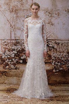 Les plus belles robes de mariée de la Bridal Fashion Week automne-hiver 2013-2014 Monique Lhuillier
