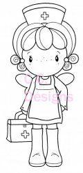 C.C. Designs Swiss Pixie Nurse Nora DIGI Image