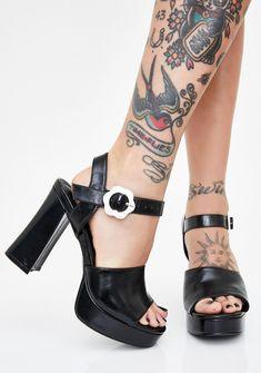 Memela Clearance sale Womens Dress Pumps Playforms Sandals Ladies Flower Graffiti Super High Heels Sandals Roman Shoes