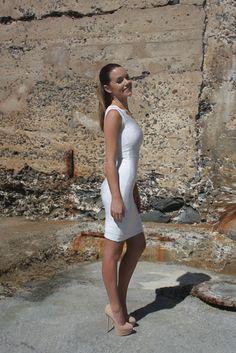 HOUSE OF LYX - BLANCA dress available at HOUSEOFLYX.COM $160 (AUD).  Follow us on Instagram, Twitter and Pinterest (@House of Lyx)! #fashion #womensfashion #outfit #houseoflyx #dress #bandagedress #cocktaildress #pretty #model #beauty #hair #clothing #onlineshopping #style #stylish #olivipalermo #kimkardashian #vogue #shoponline #australia #freeshipping #worldwidedelivery #follow
