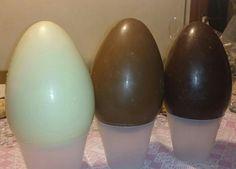 Uova cioccolato bianco, latte e fondente!! #buonaPasqua