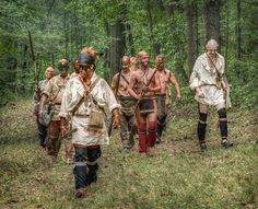 war-party-french-and-indian-war-randy-steele