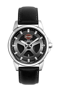 Men's Wrist Watches - HarleyDavidson Mens Bulova Watch 76B158 * Continue to the product at the image link.