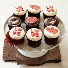 Valentine's Day Ideas 2014, adorrrrrrable cupcakes
