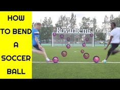 How to Bend a soccer ball. Clearly one of the few skills that requires a massive amount of training and practice. We break it down today and take a quick loo. Volleyball Setter, Volleyball Shirts, Volleyball Pictures, Cheer Pictures, Softball Pics, Soccer Drills, Soccer Coaching, Soccer Training, Youtube Soccer
