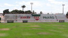 Estádio Juca Sampaio - Palmeira dos Índios (AL) - Capacidade: 5 mil - Clube: CSE