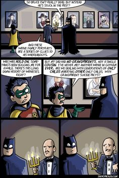 Damian DOES have a point..  Did anyone notice that one of the portraits is of a member of ICP?! Wtf, Bruce?!