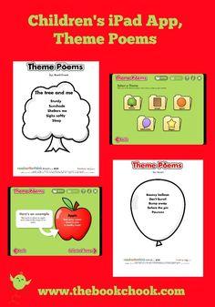 Children's iPad App, Theme Poems